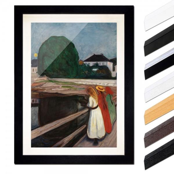 Edvard Munch - Mädchen auf der Brücke II