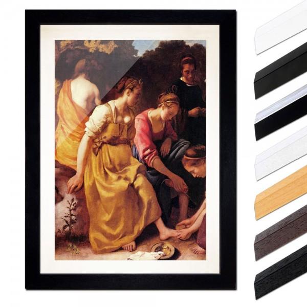 Jan Vermeer - Diana mit ihren Gefährtinnen