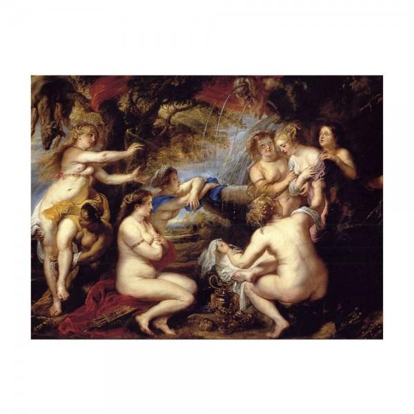 Leinwandbild - Peter Paul Rubens - Diana und Kallisto