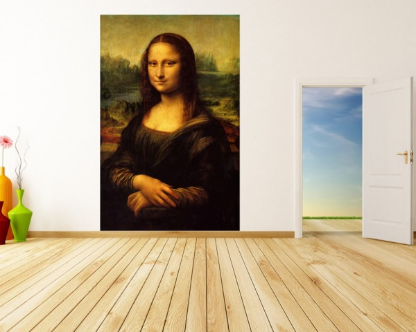 Fototapete Leonardo da Vinci - Alte Meister - Mona Lisa