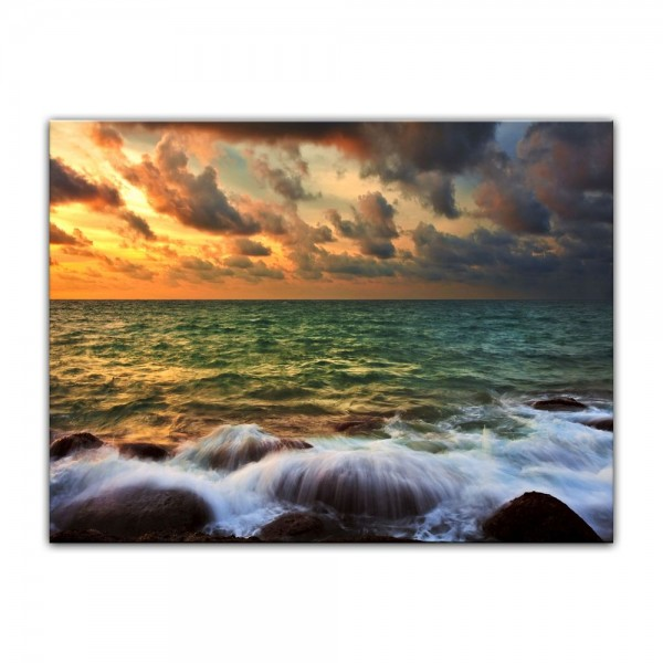Leinwandbild - Tropical Sunset