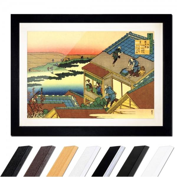 Katsushika Hokusai - Das Gedicht von Ise
