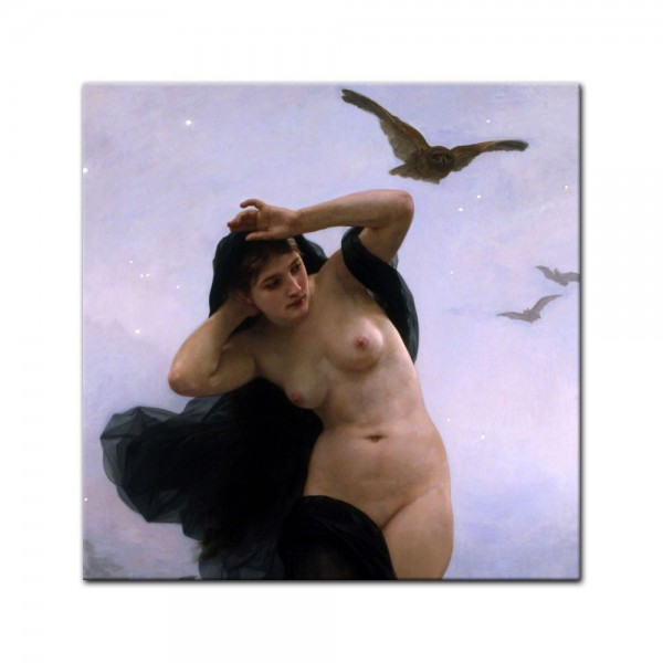 Leinwandbild - William-Adolphe Bouguereau - Nacht
