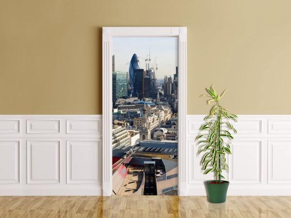 Türaufkleber - London Panorama