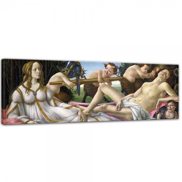 Leinwandbild - Sandro Botticelli - Venus und Mars