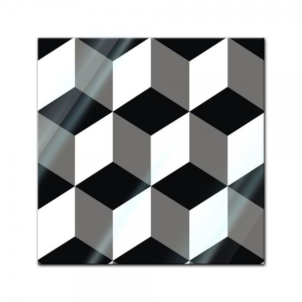 Glasbild - Abstrakte Kunst XLV