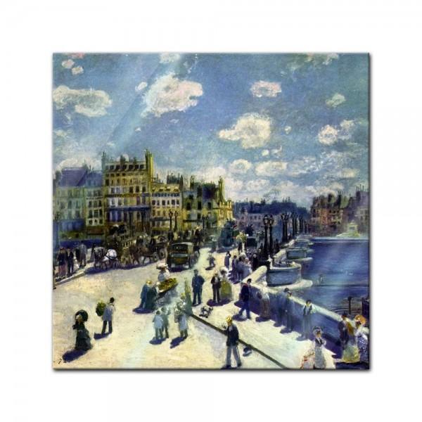 Glasbild Pierre-Auguste Renoir - Alte Meister - Pont-Neuf