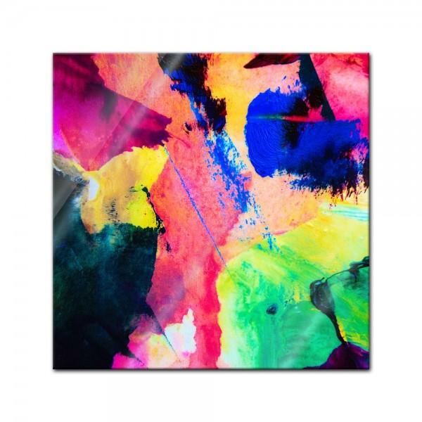 Glasbild - Abstrakte Kunst XXXVIII