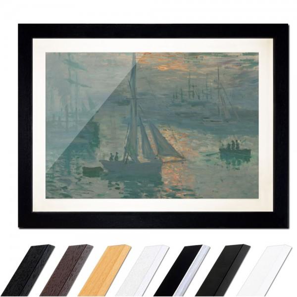 Claude Monet - Sonnenaufgang (Marine)