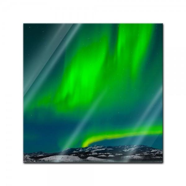 Glasbild - Nordlichter