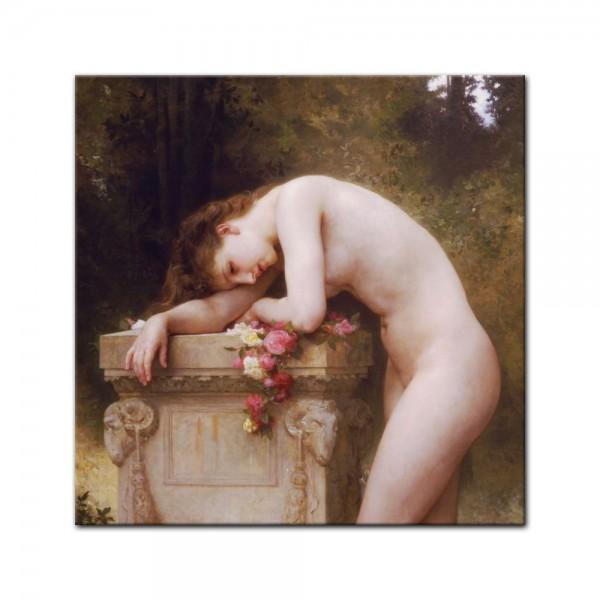 Leinwandbild - William-Adolphe Bouguereau - Die Elegie