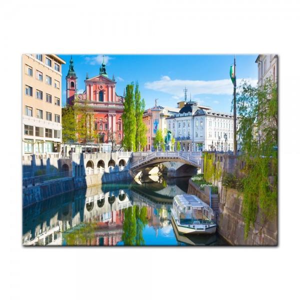 Leinwandbild - Ljubliana - Slowenien