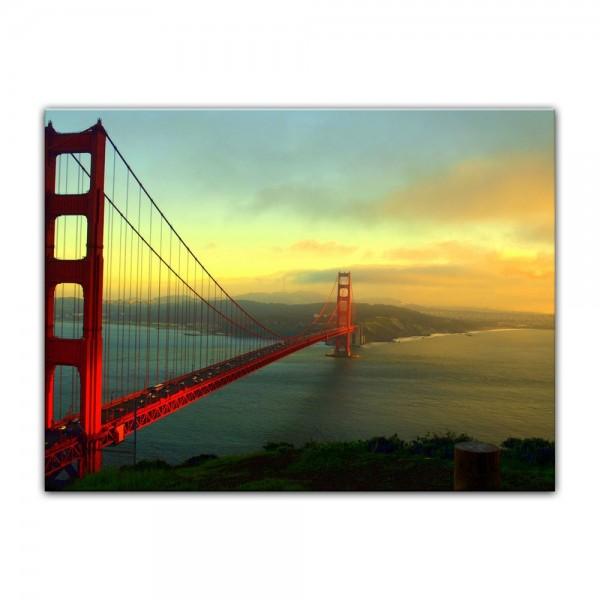 Leinwandbild - Golden Gate Bridge - San Francisco II