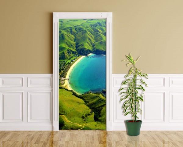 Türaufkleber - Taupo Bucht