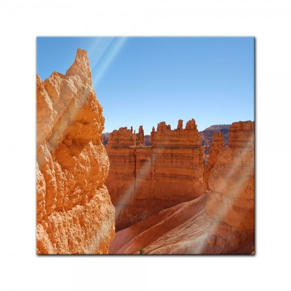 Glasbild - Bryce Canyon