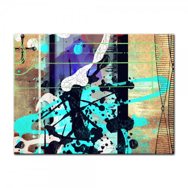 Leinwandbild - Abstrakte Kunst L