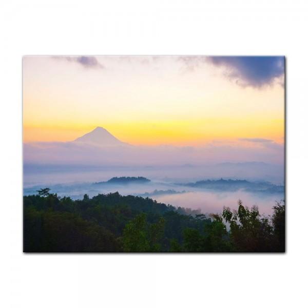 Leinwandbild - Merapi Vulkan - Indonesien