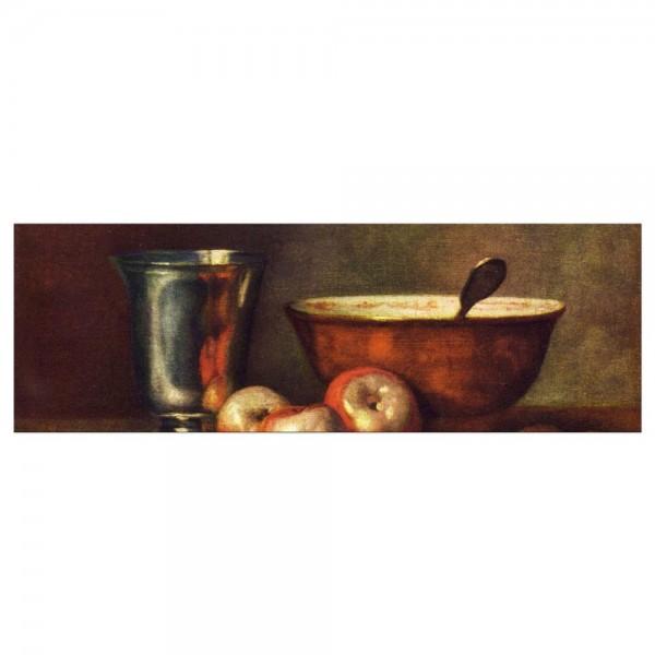 Leinwandbild - Jean Siméon Chardin - Der Silberbecher