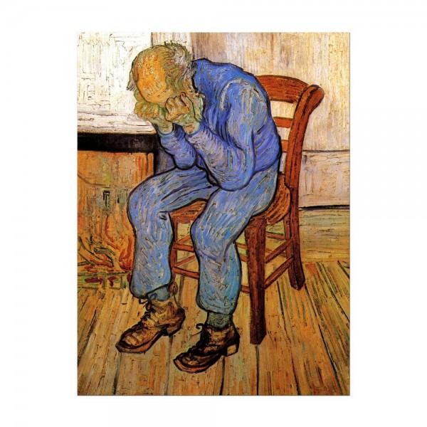 Leinwandbild - Vincent van Gogh - An der Schwelle der Ewigkeit