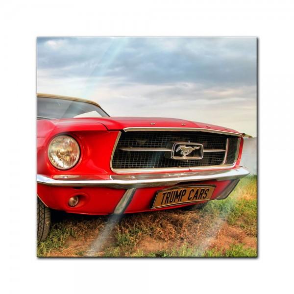 Glasbild - Mustang