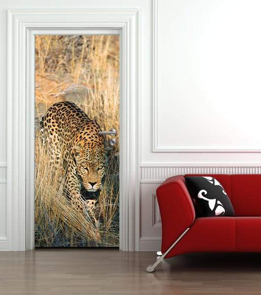 Türaufkleber Gepard