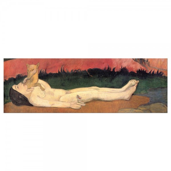 Leinwandbild - Paul Gauguin - Verlust der Jungfräulichkeit