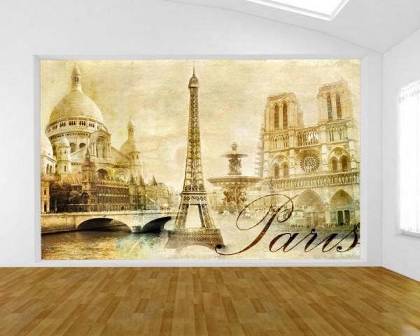 Fototapete Paris Urban Collage