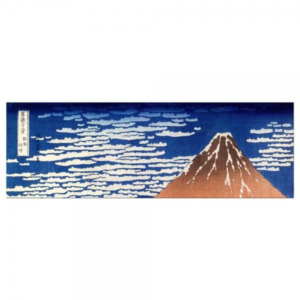 Leinwandbild - Katsushika Hokusai - Roter Fuji