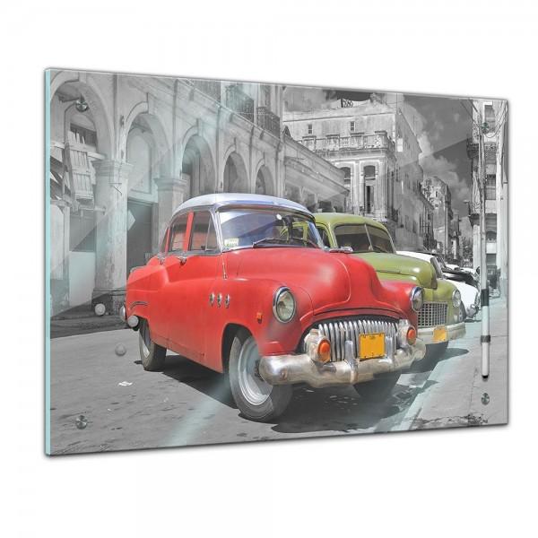 Memoboard - Männermotive - Oldtimer in Kuba