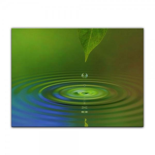 Leinwandbild - Waterdrop II