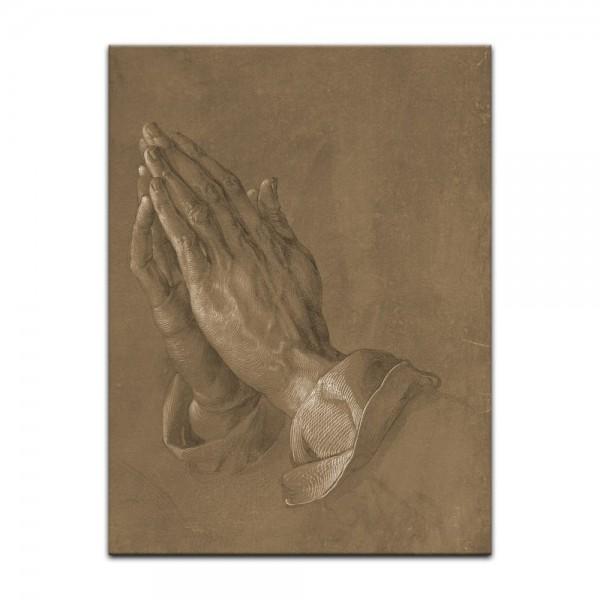 Leinwandbild - Albrecht Dürer - betende Hände