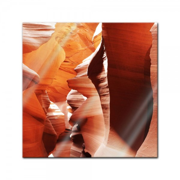 Glasbild - Antelope Canyon - Arizona USA III