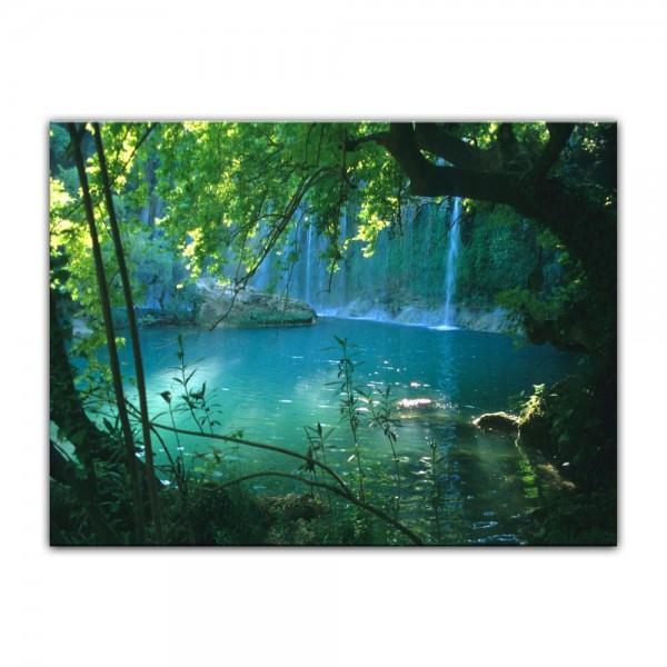 Leinwandbild - Kursunlu Wasserfälle - Türkei