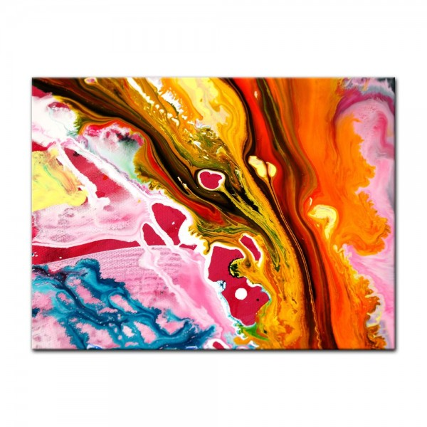 Leinwandbild - Abstrakte Kunst XL