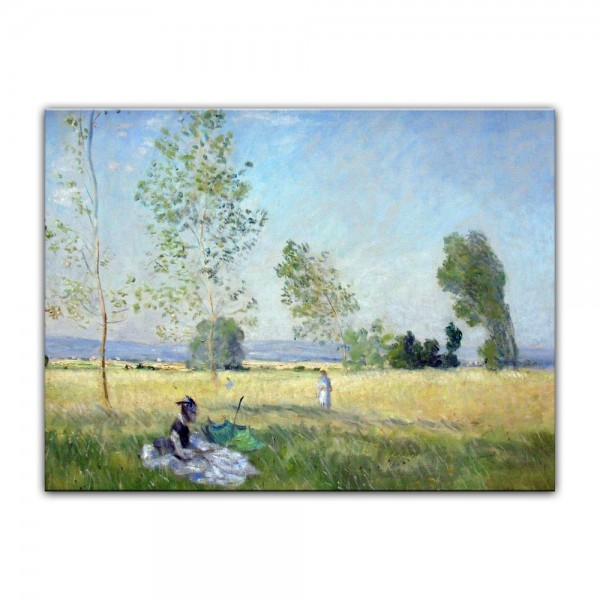 Leinwandbild - Claude Monet - Sommer