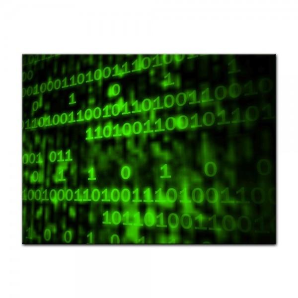 Leinwandbild - Matrix Code