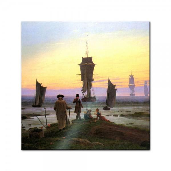 Glasbild Caspar David Friedrich - Alte Meister - Die Lebensstufen