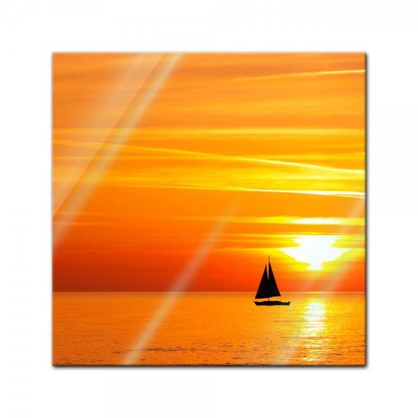 Glasbild - Sailing