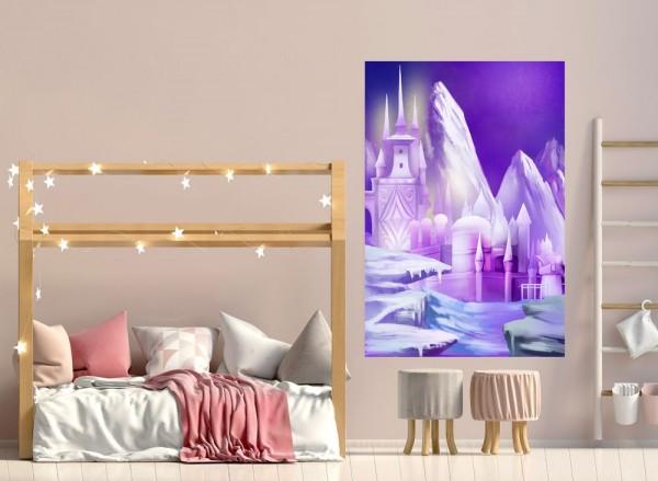 selbstklebende Fototapete - Kinderbild - Eispalast