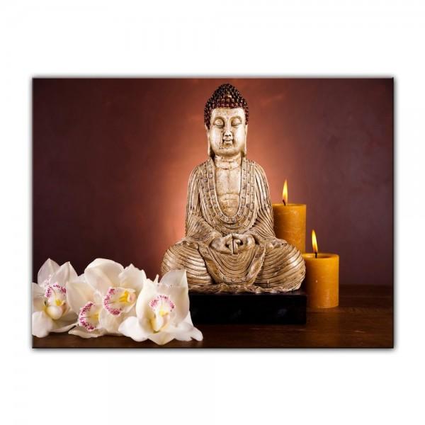 Leinwandbild - Buddha IV