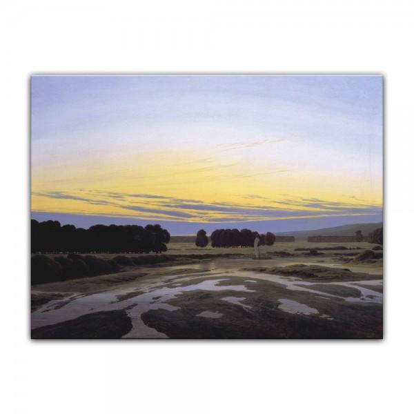 Leinwandbild - Caspar David Friedrich - Das große Gehege