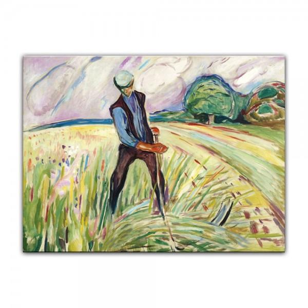 Leinwandbild - Edvard Munch - The Haymaker