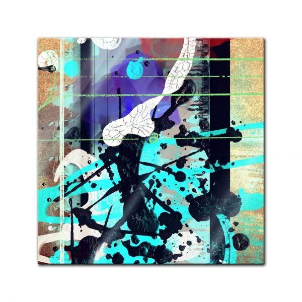 Glasbild - Abstrakte Kunst L