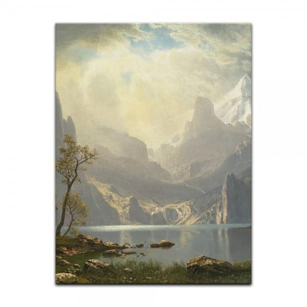Leinwandbild - Albert Bierstadt - Light in the Forest