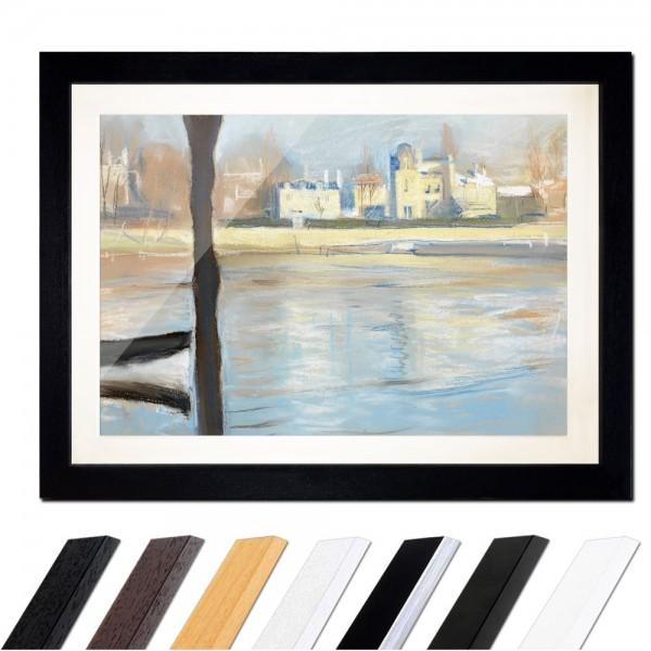 Edvard Munch - The Seine at Saint-Cloud