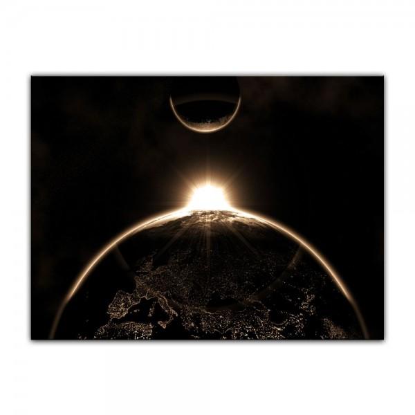 Leinwandbild - Sonnenaufgang