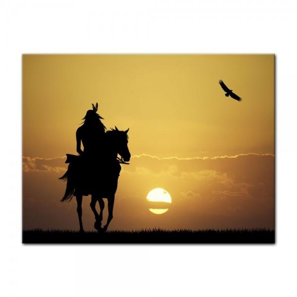 Leinwandbild - Crazy Horse
