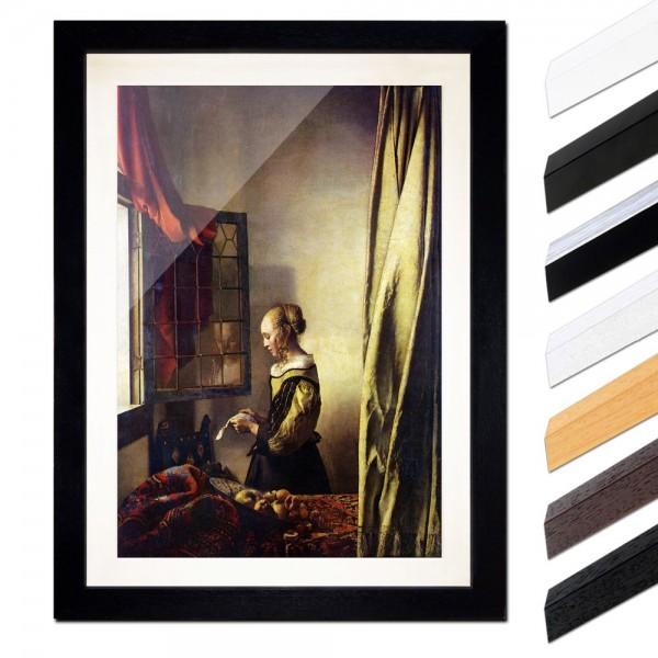 Jan Vermeer - Briefleserin am offenen Fenster