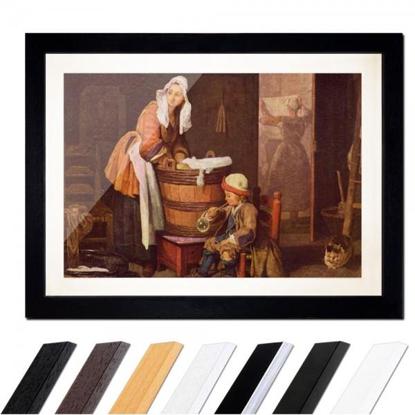 Jean Siméon Chardin - Die Wäscherin