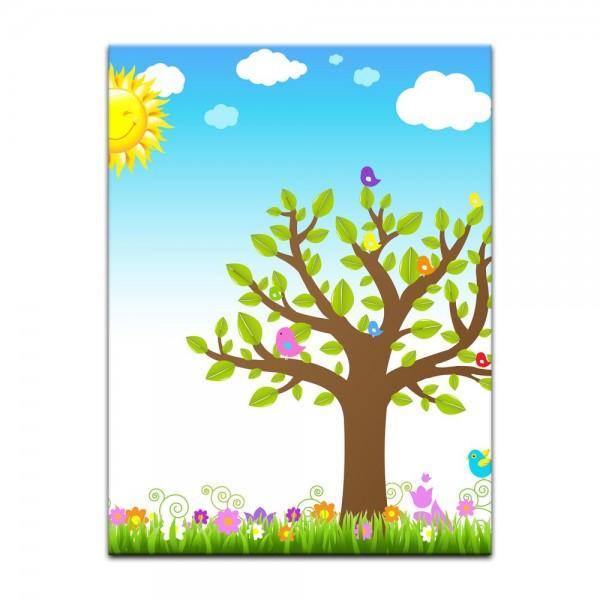 Leinwandbild - Kinderbild - Sommertag